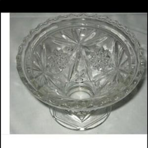Anchor Hocking Cake Plate Stand